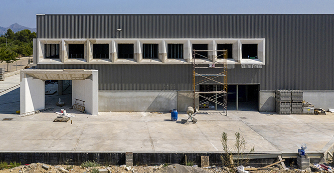 industrial portda
